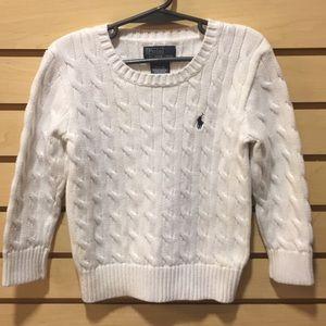 Sz 5 Polo Sweater